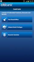 Screenshot of Citibank HK