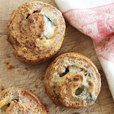 Roquefort & Walnut Rolls