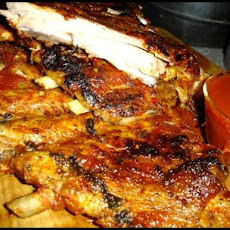 Hot Oven Barbecued Ribs