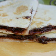 Chocolate Dessert Quesadillas