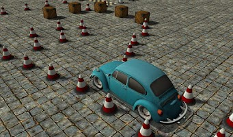 Screenshot of Car Driver 2 (Hard)