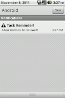 Screenshot of Task Reminder Pro