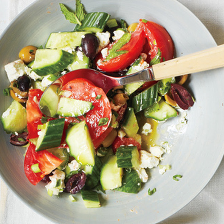 cucumber purslane salad summer cucumber salad with tomatoes and feta ...