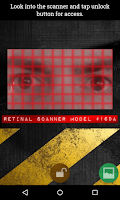 Screenshot of Retinal Scanner Lock Prank