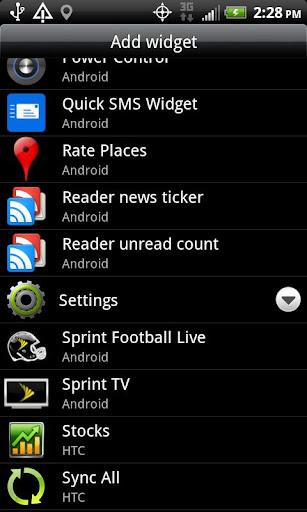 Quick SMS Widget