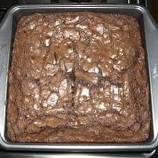 High Altitude Deep Dish Brownies