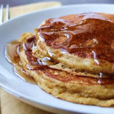 Cornmeal Molasses Pancakes