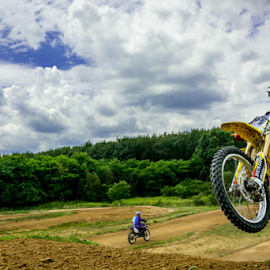 MX by Srečko Prša - Sports & Fitness Other Sports ( motocros, hungary, bike, sky, suzuki, mx, dirt )