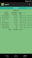 Screenshot of Cước điện thoại viettel