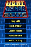 Screenshot of Light Racer Elite