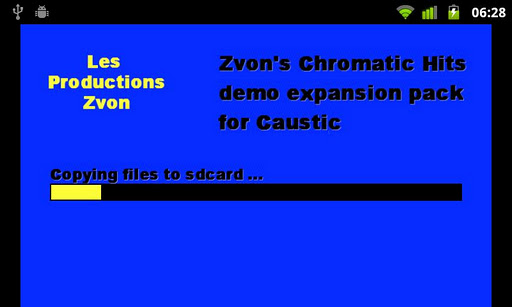 Chromatic Hits demo Caustic