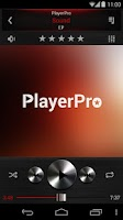 Screenshot of PlayerPro Dark Metal 3in1 Skin