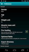 Screenshot of Weight Logger