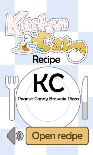 KC Peanut Candy Brownie Pizza