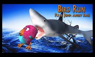 Screenshot of Bird Run, Fly&Jump: Angry Race