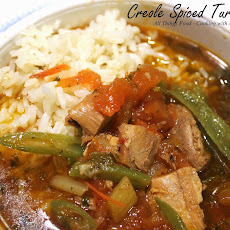 Creole Spiced Turkey Soup