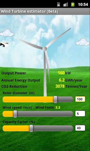 Wind Turbine Estimator beta