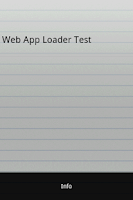 Screenshot of Web App Loader