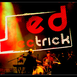 red electric by Mark Cauchi - People Musicians & Entertainers ( music, band, red, malta, electric, rock, live,  )