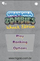 Screenshot of Granny Whack-a-Zombie