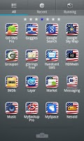 Screenshot of USA GO Launcher EX Theme