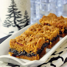 Cherry Graham Crumble Bars