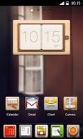 Screenshot of Desktop Clock Widget