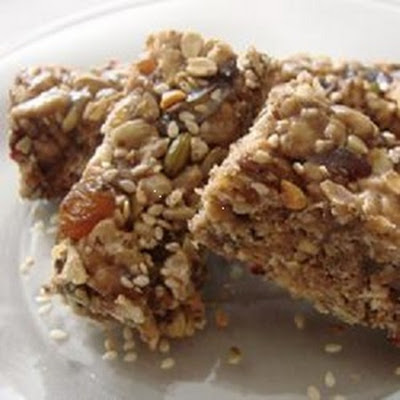 Cherry-Almond Energy Bars