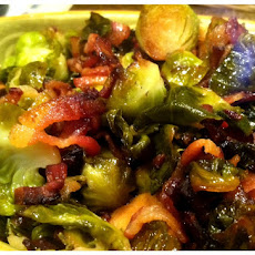 Sweet and Sour Brussels Sprouts