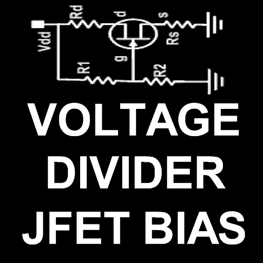 JFET Voltage Divider Bias LOGO-APP點子