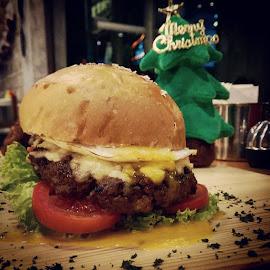 XO Burger... by Yohanes Satriatama - Food & Drink Meats & Cheeses
