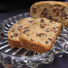 Kelly's Chocolate Chip and Pecan Zucchini Bread