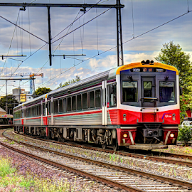 V-Line Sprinter by Peter Keast - Transportation Trains ( diesel, commuter, train, transportation, motorrail )