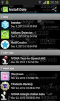 Screenshot of Addons Detector
