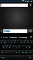Screenshot of GO Keyboard Shadow ICS