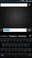 Screenshot of GO Keyboard Shadow ICS