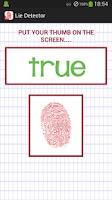 Screenshot of Lie Detector