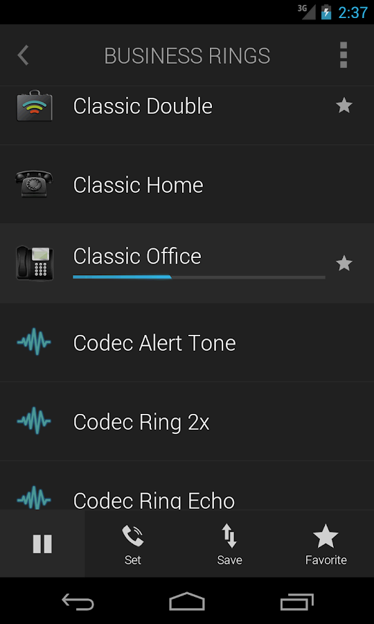 Ringtones Complete Screenshot 3