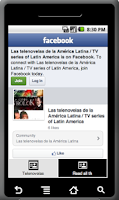 Screenshot of Telenovelas de Latino America