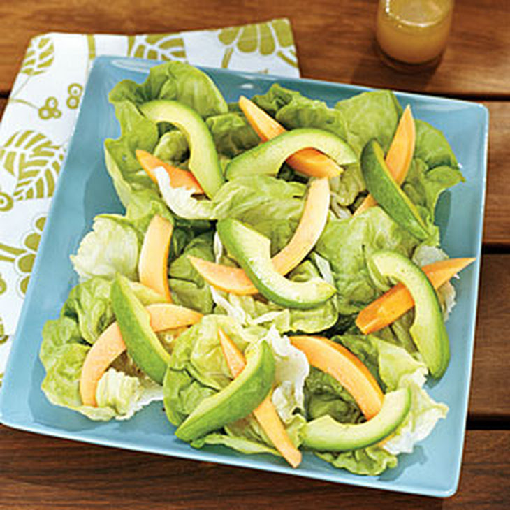 Papaya and Avocado Salads with Hawaiian Vanilla Vinaigrette Recipe ...
