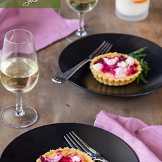 Beetroot and Goats Cheese Tarts