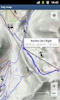 Screenshot of Ski Trace Free - GPS tracker