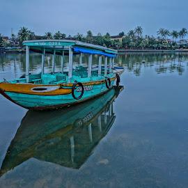 by Cho Kwang Ch'ng - Transportation Boats