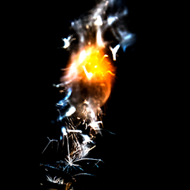 Lighter by Stefan Stevanovic - Abstract Fire & Fireworks ( sparkles, flames, sparkler, sparkling, lightening, sparkle, lighter, sparklers, flame,  )
