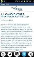 Screenshot of Villepin 2012