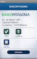 Screenshot of Patagonia Móvil