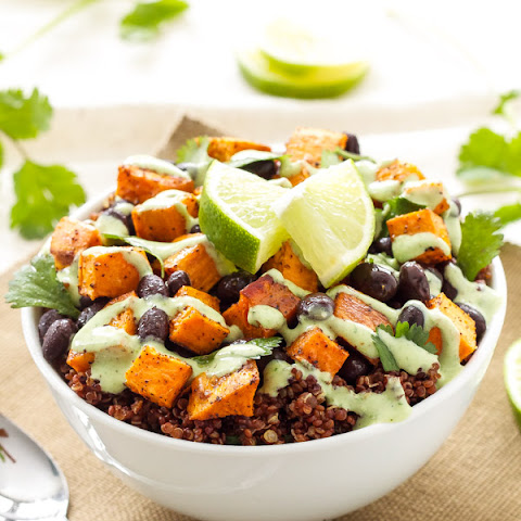 Black Bean, Sweet Potato, And Red Quinoa Soup Recipes — Dishmaps