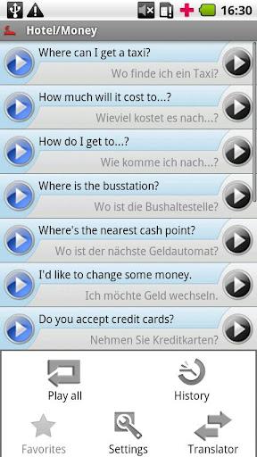 iSayHello 英语 - 德语