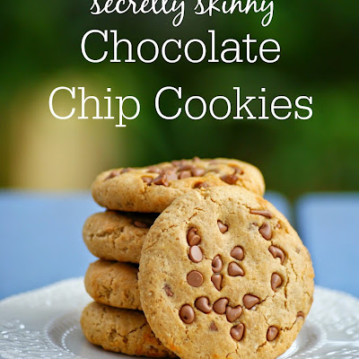 Secretly Skinny Chocolate Chip Cookies Recipe makes 8 cookies