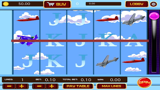 Airplane Casino Slots - screenshot